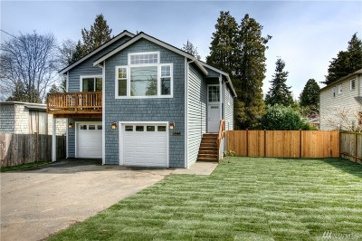 Seattle Single Family Home For Sale: 13534 Meridian Ave N