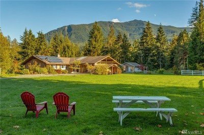 Whatcom County Single Family Home For Sale: 7626 Shady Ridge Rd