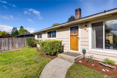 Seatac Single Family Home For Sale: 20732 14th Ave S