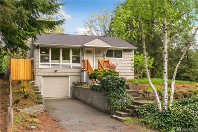 Seattle Single Family Home For Sale: 2018 NE 97th St
