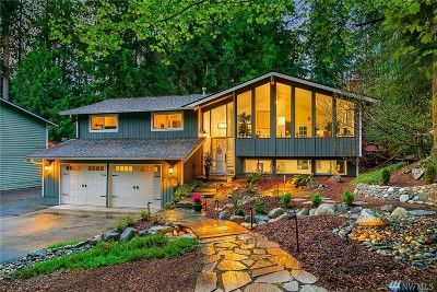 Woodinville Single Family Home For Sale: 19507 NE 162nd St