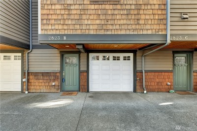 Seattle Single Family Home For Sale: 2823 SW Adams St #B