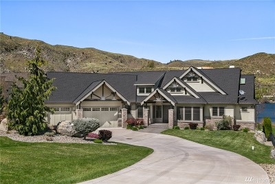 Chelan County, Douglas County Single Family Home For Sale: 262 Vineyard Dr