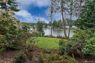 Grapeview Single Family Home For Sale: 5580 E Mason Lake Dr W