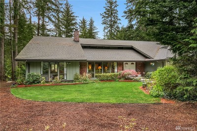 Issaquah Single Family Home For Sale: 15611 263rd Ave SE