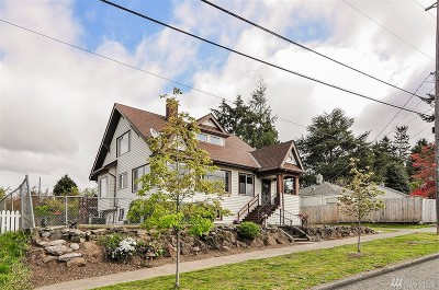 Seattle Single Family Home For Sale: 4148 SW Kenyon St