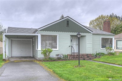 Olympia Single Family Home For Sale: 3215 Pear St SE