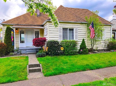 Chehalis Single Family Home For Sale: 743 SE Adams Ave
