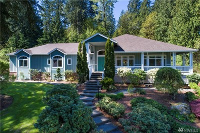 Woodinville Single Family Home For Sale: 17513 233rd Place NE