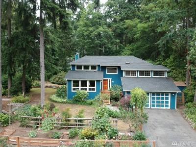 Bainbridge Island Single Family Home For Sale: 9612 NE Timberlane Place