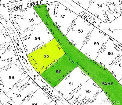 Bellingham WA Residential Lots & Land For Sale: $19,900