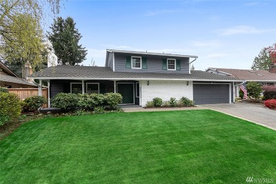 Renton Single Family Home Contingent: 14653 SE 172nd St