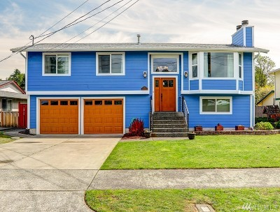 Tacoma Single Family Home For Sale: 1125 N Harmon St
