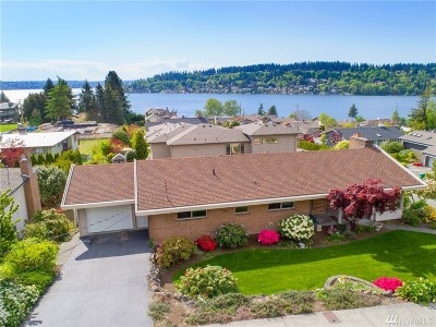 Renton Single Family Home For Sale: 3741 Park Ave N