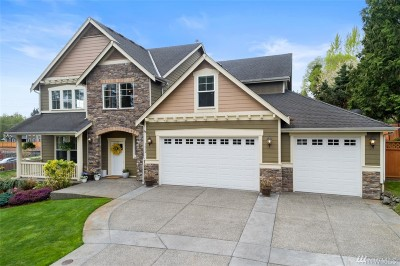 Puyallup Single Family Home For Sale: 1312 23rd Ave SW