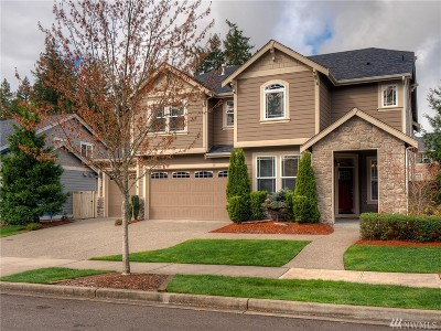 Lacey Single Family Home Pending Inspection: 3929 Amelia Ct NE