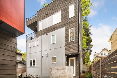 Seattle Single Family Home For Sale: 217 E 23rd Ave