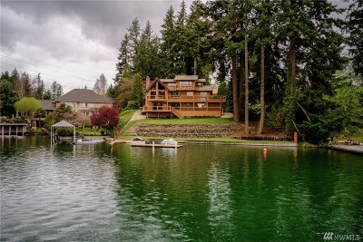 Lake Tapps Single Family Home Contingent: 2804 176th Ave E