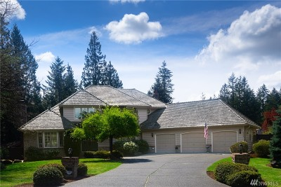 Sammamish Single Family Home For Sale: 3349 263rd Ave SE