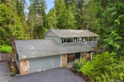 Woodinville Single Family Home Contingent: 19118 183rd Ave NE