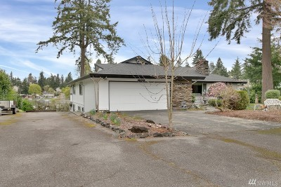 Spanaway Single Family Home For Sale: 637 173rd St S