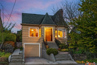Seattle, Bellevue, Kenmore, Kirkland, Bothell Single Family Home For Sale: 7730 11th Ave NW
