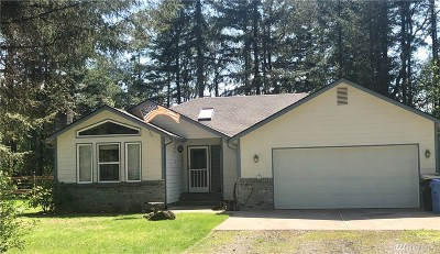 Thurston County Single Family Home For Sale: 16544 Littlerock Rd SW
