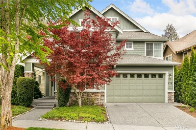 Issaquah Single Family Home For Sale: 970 Big Tree Dr NW