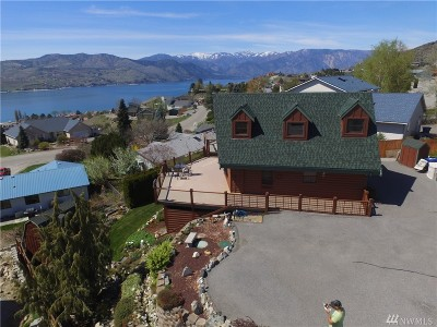 Chelan County Single Family Home For Sale: 114 Stormy Mountain Way,