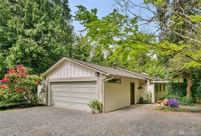 Bellevue Single Family Home For Sale: 11034 NE 26th Place