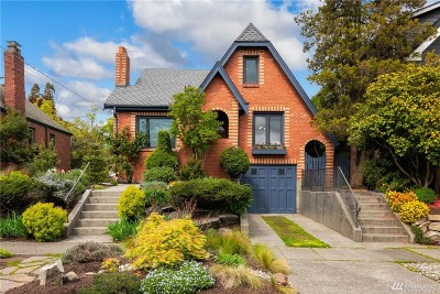 Seattle Single Family Home For Sale: 810 NW 57th St
