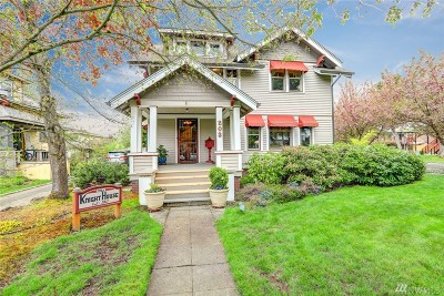 Puyallup Single Family Home For Sale: 203 5th Ave NW