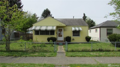 Tacoma Single Family Home For Sale: 6806 S Ferdinand St