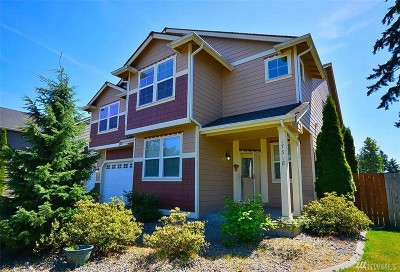 Spanaway Single Family Home Contingent: 17318 18th Ave E