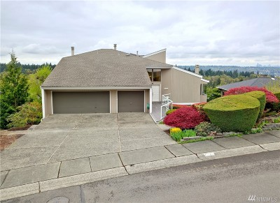 Bellevue Single Family Home For Sale: 4825 134th Place SE