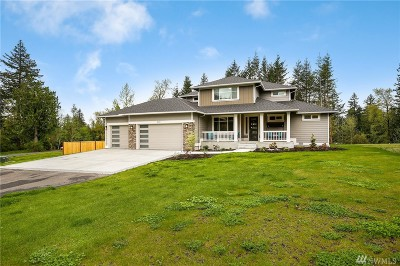 Snohomish Single Family Home For Sale: 18620 55th St SE