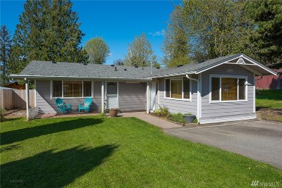 Bellingham WA Single Family Home For Sale: $349,000