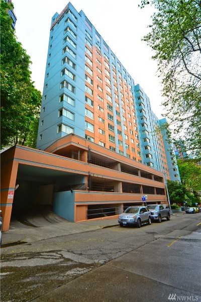 Seattle Condo/Townhouse For Sale: 1400 Hubbell Place #806