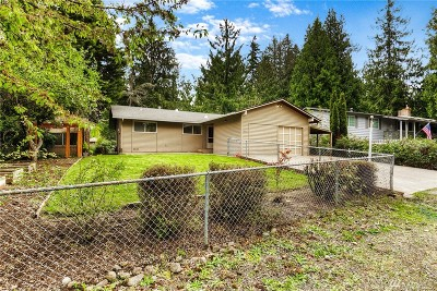 Single Family Home For Sale: 18114 43rd St E
