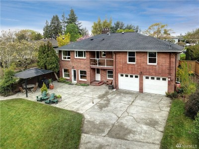 Seattle Single Family Home For Sale: 1801 NW 95th St