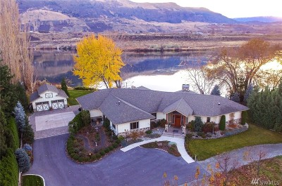 Chelan County, Douglas County Single Family Home For Sale: 5120 Sr 28