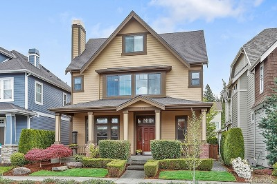 Issaquah Single Family Home For Sale: 1478 29th Place NE