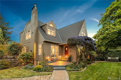 Seattle Single Family Home For Sale: 3018 Fuhrman Ave E