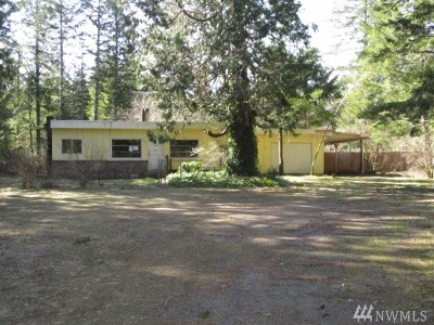Mason County Single Family Home For Sale: 14851 N Us Hwy 101