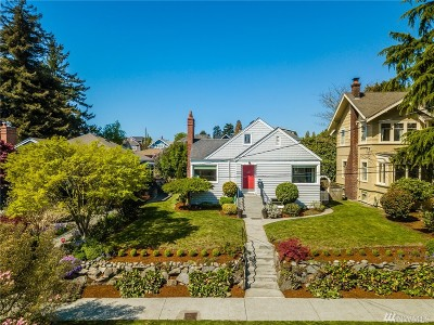 Seattle Single Family Home For Sale: 3228 NW 61st St