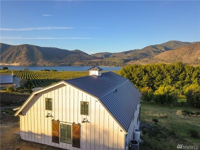 Chelan County Single Family Home For Sale: 2033 Manson Blvd