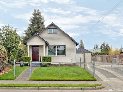 Tacoma Single Family Home For Sale: 914 S 64th St