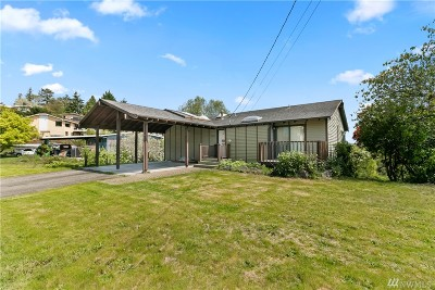 Burien Single Family Home For Sale: 16446 9th Ave SW