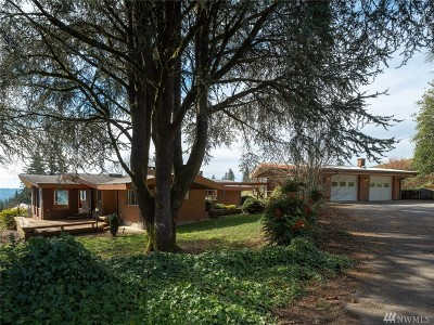 Single Family Home For Sale: 631 Little Kalama River Rd