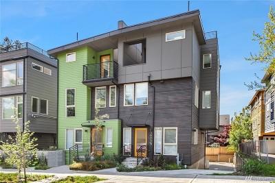 Seattle Single Family Home For Sale: 3625 Evanston Ave N #E